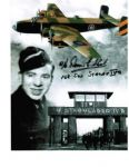 Dennis Slack WW2 Veteran great montage of Dennis, POW Camp & Lancaster